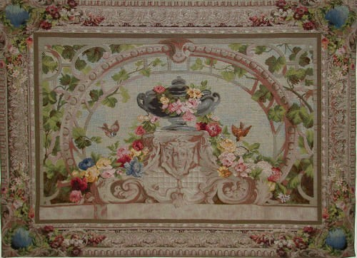 Beauvais tapestry - French wool and cotton wall tapestries
