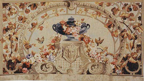 Beauvais, Autumn tapestry - French tapestry wallhanging