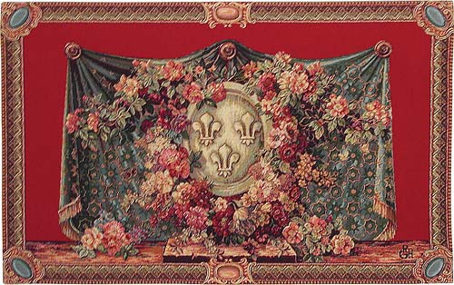 Fleur de Lys tapestry - wall hanging sale