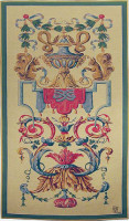 Vaux le Vicomte tapestry - French wall tapestry