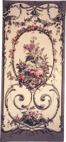 Jessica grey tapestry - Belgian tapestry wallhanging
