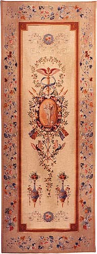 Statue Portiere tapestry - tall wallhanging