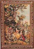 The Indiscretion tapestry - left - Fragonard tapestries