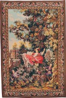 The Indiscretion tapestry - right side - Fragonard tapestries