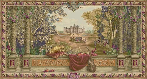 The Royal Palace tapestry - Verdure au Chateau wall hanging
