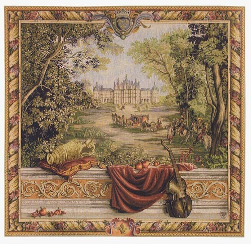 The Royal Palace - square tapestry