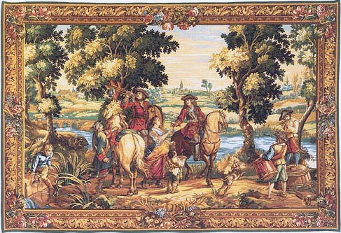 The History of the King tapestry - Louis XIV tapestries