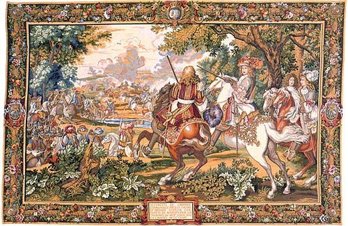 The Canal of Bruges tapestry - Louis XIV tapestries