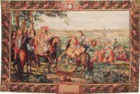 The Taking of Lille tapestry - Louis XIV tapestries