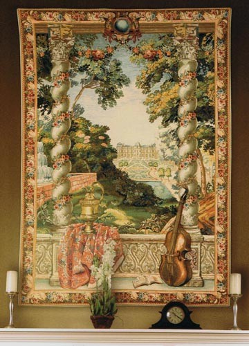 Chateau D'Enghien tapestry - wall tapestry woven in Belgium