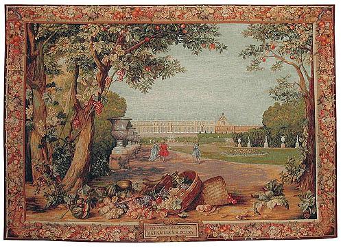 Versailles Promenade tapestry - Tentures des Jardins Versailles