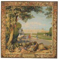 Versailles Promenade - square tapestry