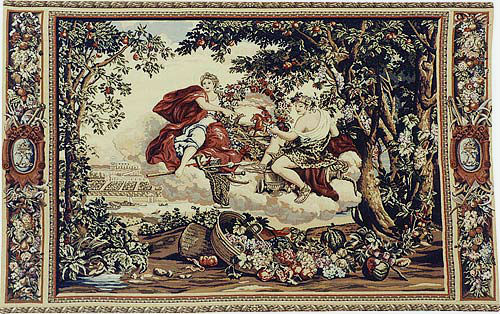 Bacchus tapestry - Charles le Brun tapestries - woven in France