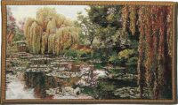 Monet's Garden tapestry - right - Monet wall tapestries