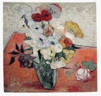 Van Gogh Fleurs tapestry - Van Gogh tapestries