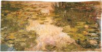 Monet's Waterlilies tapestry - Monet Impressionist painting