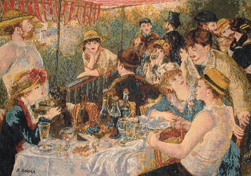 Lunch of the Boating Party tapestry - Renoir tapestries