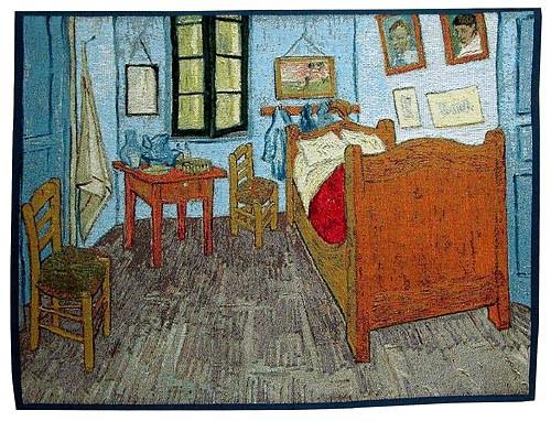 Bedroom in Arles tapestry - Van Gogh tapestries