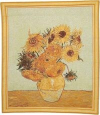 Vase with Twelve Sunflowers - Van Gogh tapestry