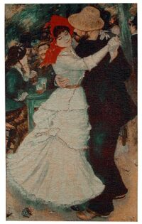 Dance at Bougival tapestry - Renoir wall tapestries