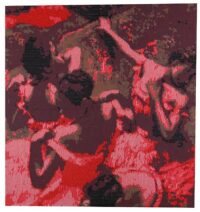 Dancing Girls - Degas tapestry wall-hanging
