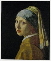 Girl with the Pearl Earing - Verrmeer tapestry wallhanging
