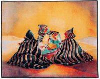 The Carpet Merchants tapestry - woven in Belgium
