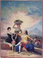 La Vendimia tapestry - Goya wall tapestries
