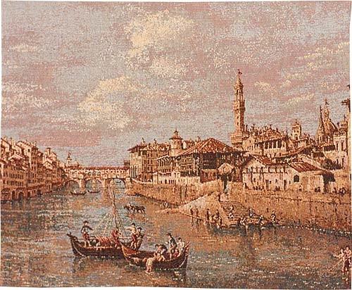Florence Bridge tapestry - Ponte Vecchio