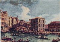 The Rialto Bridge tapestry - Italian wall tapestry