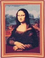 Mona Lisa tapestry - woven in France