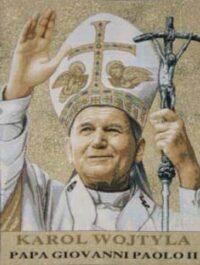 Pope John Paul II tapestry - Karol Wojtyla