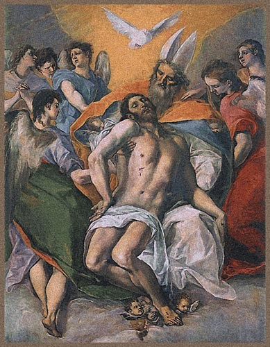 El Greco Trinity tapestry - Belgian wall-hanging