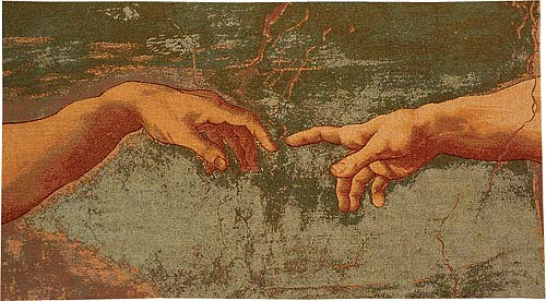 The Creation tapestry - Michelangelo wallhanging