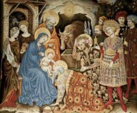 Adoration of the Magi wall tapestry - Strozzi Altarpiece