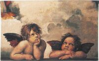 Angels by Raphael tapestry - Belgian tapestry wall-hanging