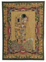 The Kiss tapestry - Gustav Klimt French wall-hanging tapestries
