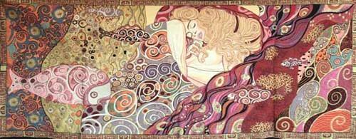 Danae tapestry - Gustav Klimt