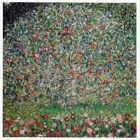 The Apple Tree tapestry - from a painting by Gustav Klimt