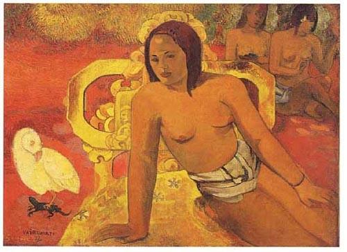 Vairumati Gauguin tapestry