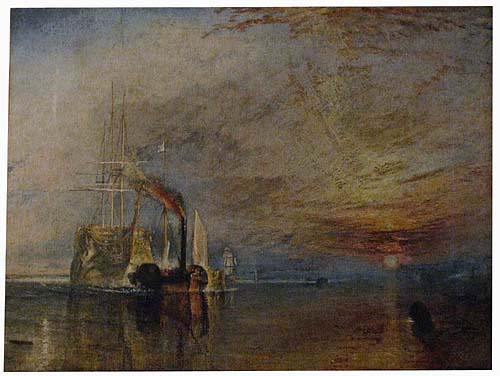 The Fighting Temeraire tapestry - JMW Turner painting