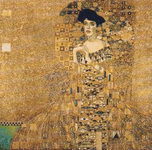 Adele Bloch-Bauer tapestry - Gustav Klimt
