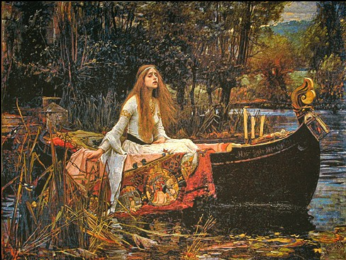 The Lady of Shalott tapestry - Pre-Raphaelite tapestries