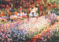 Monets Garden at Giverny - The Artist's Garden at Giverny tapestry