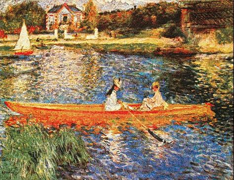 Seine at Asnieres - Renoir tapestry