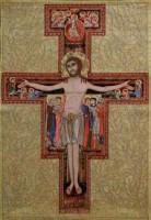The Cross of San Damiano - Italian wall tapestry
