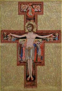 The Cross of San Damiano - Italian wall tapestry