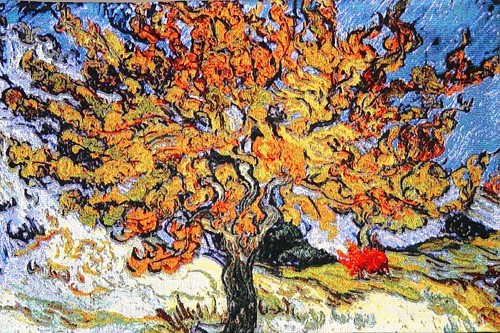 Mulberry Tree tapestry - Van Gogh wall tapestries