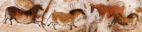 Lascaux tapestry - cave painting tapestries