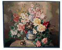 Jolly Bouquet tapestry - woven in Belgium